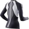 X-Bionic The Trick Koszulka do biegania z długim rękawem Kobiety czarny
